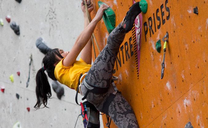 Support Kirsten's International Climbing Season