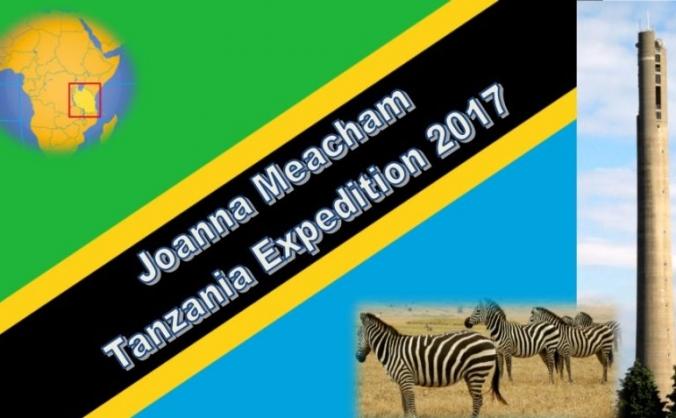 Joanna Meacham 2017 expedition to Tanzania