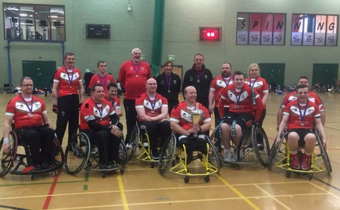 Wales Wheelchair Rugby League World Cup fundraiser