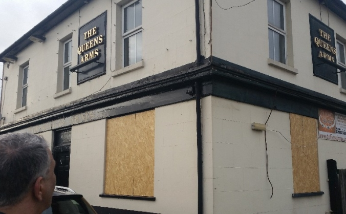 The Queens Arms Alcohol free pub for the homeless