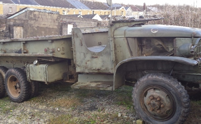 Restoration of a 1944 GMC