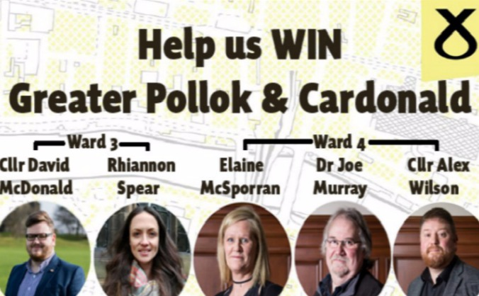 Help the SNP win in Greater Pollok & Cardonald