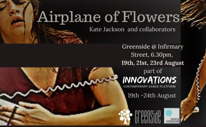 Airplane of Flowers at Ed Fringe 2019