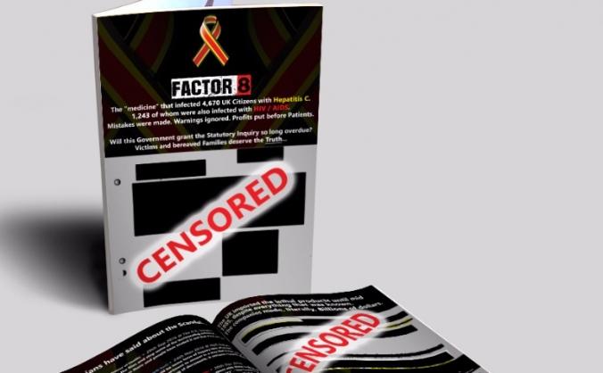 Factor 8 Scandal Booklet