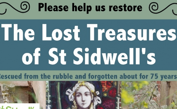 The Lost Treasures of St Sidwell's