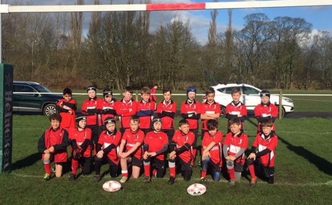 Blaydon Bullets U'9's Youth Rugby