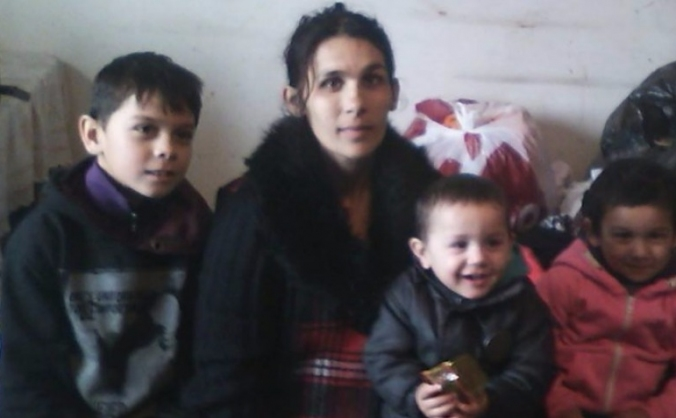 Helping a Roma Family survive and stay Together.