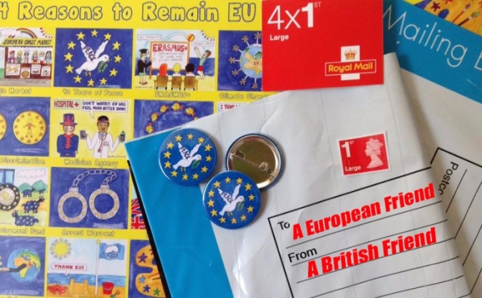 23rd June - Letters to Europe
