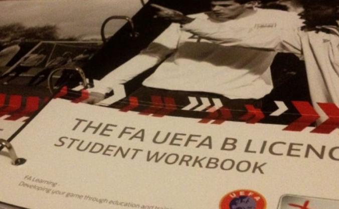 UEFA B Licence funding