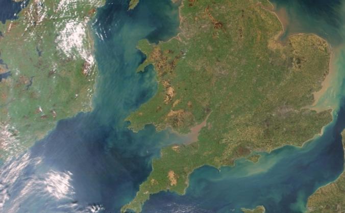 Walk the entire  English/welsh coastline