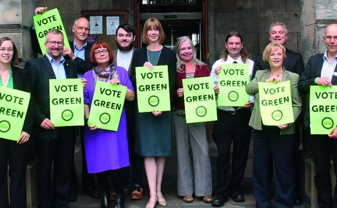 Edinburgh Greens: make a difference in final month