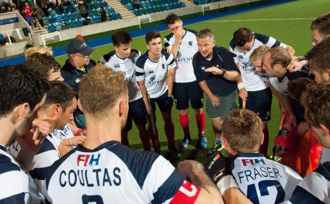 Back the Blue sticks - Scotland Men's Hockey Team