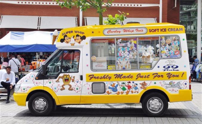 Gift Free Ice Creams from Mosque Ice Cream Van!