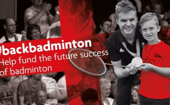 Help fund the future success of English badminton