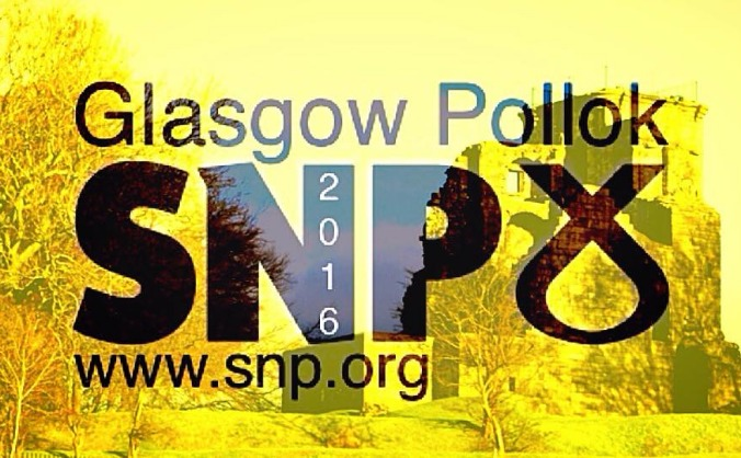 Help the SNP win Glasgow Pollok at Holyrood Step 1