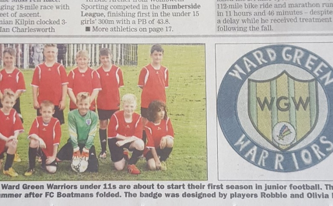 ward green warriors fc 2017