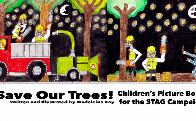 Save Our Trees - Children's Picture Book