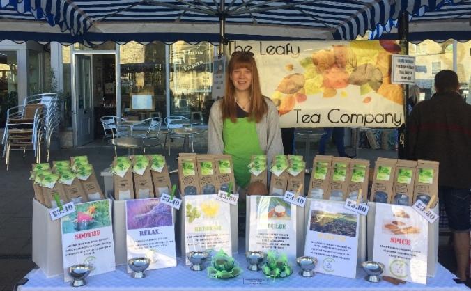 The Leafy Tea Company- Operation Grow :)