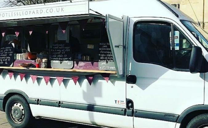 Repairs to The Spotless Leopard vegan van!