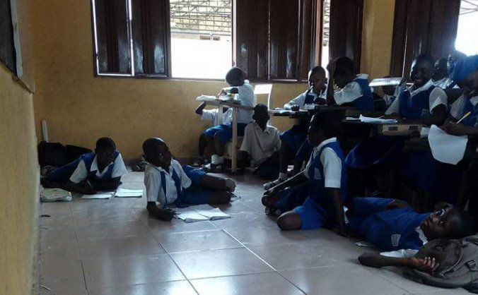 Education for all in remote part of Africa