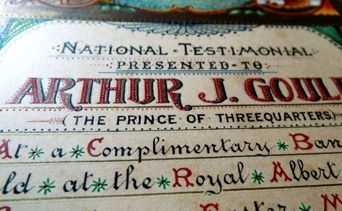 Blue Plaque for Arthur Joseph 'Monkey' Gould