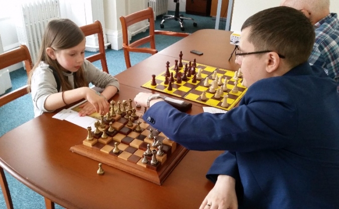 Supporting young 'CHESS LIFE CLUB'