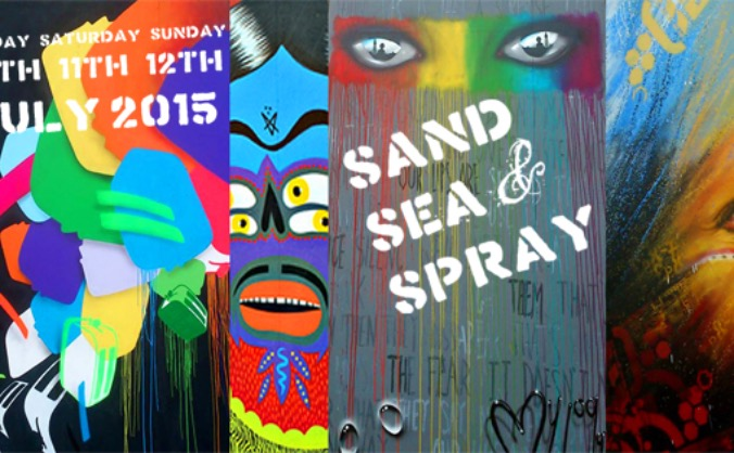 Sand Sea and Spray 2015: Urban Art Festival