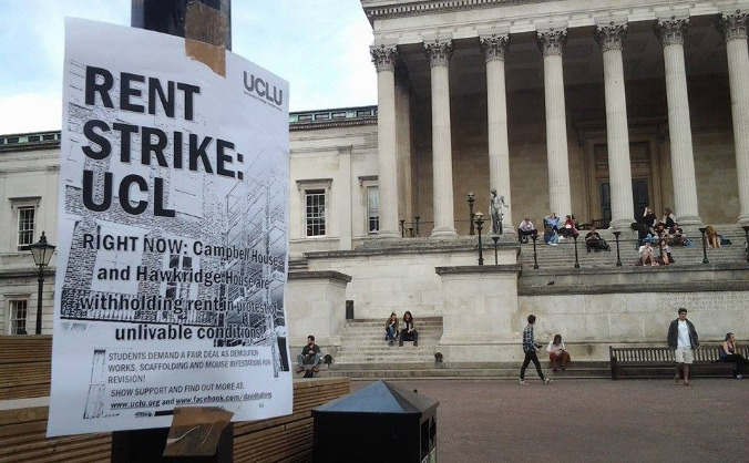 Buy a UCL striker a pint! Solidarity support!