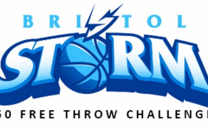 Bristol Storm Basketball 2017-2018 - 50 Free Throw