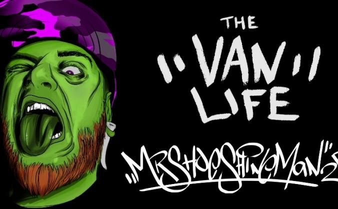 Vanlife Artist Brad 'MrShoeShineMan' Rumble