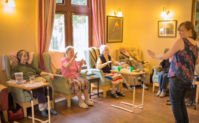 Integrating Music into Care