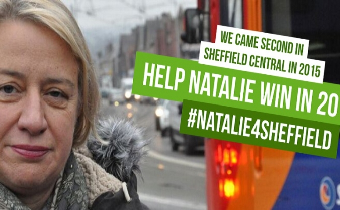 #Election2017: Natalie Bennett 4 Sheffield Central