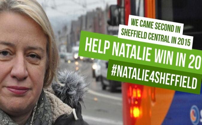 #Election2017: Natalie Bennett 4 Sheffield Central