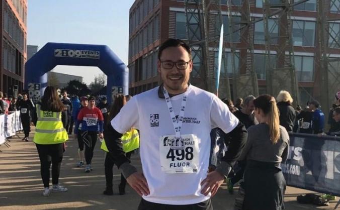 KazSociety runs London Marathon