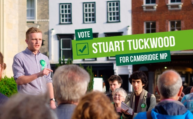 Elect Stuart Tuckwood as MP for Cambridge