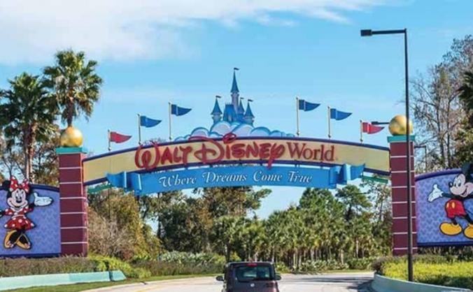 Surprise Trip to Disney World