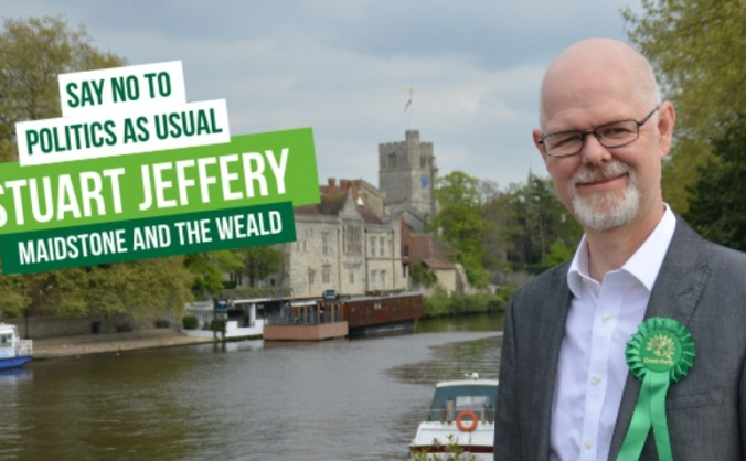 General Election deposit for Maidstone & the Weald