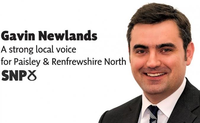 Re-elect Gavin Newlands
