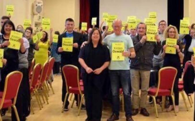Re-elect Kirsten Oswald in East Renfrewshire
