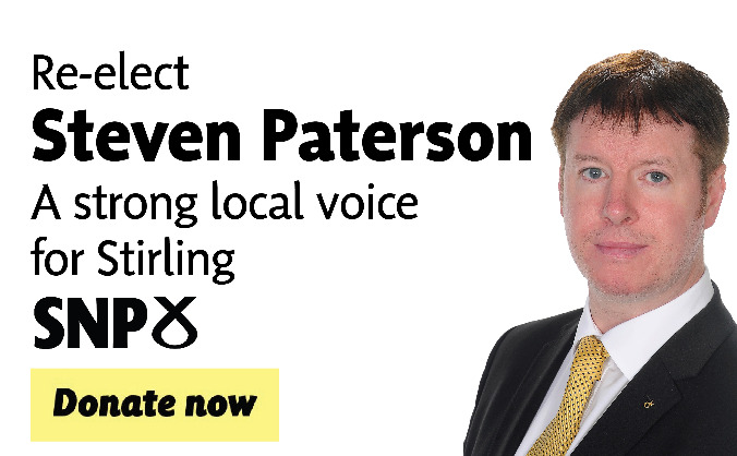 Re-elect Steven Paterson for Stirling
