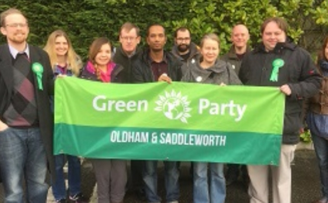 A Green MP for Oldham & Saddleworth - Snap GE Fund