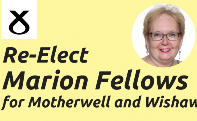 Re-Elect Marion Fellows for Motherwell & Wishaw
