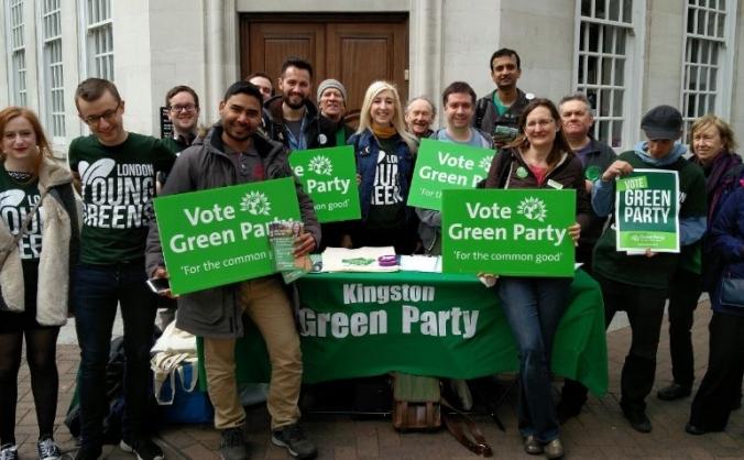 Kingston Green Party General Election Deposit