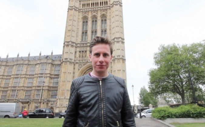 YOUTUBER JAMES WARE RUNS AS MP IN GENERAL ELECTION