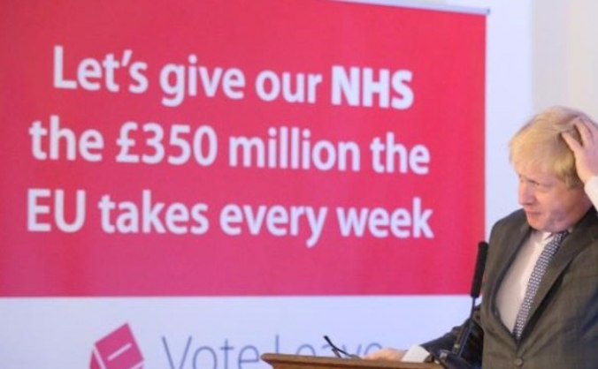 £350m for the NHS - Remind Boris Johnson