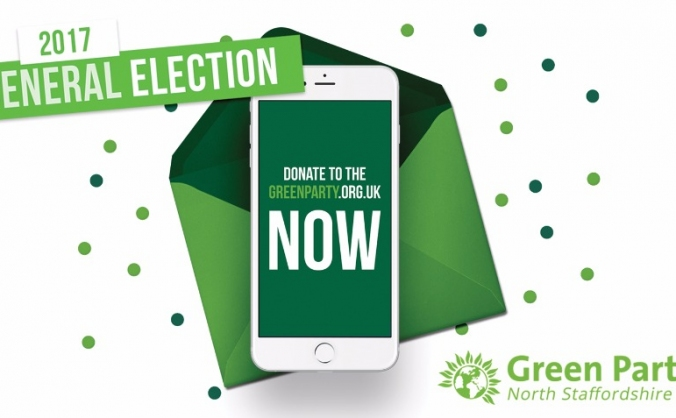 North Staffordshire Green Party PPC deposit