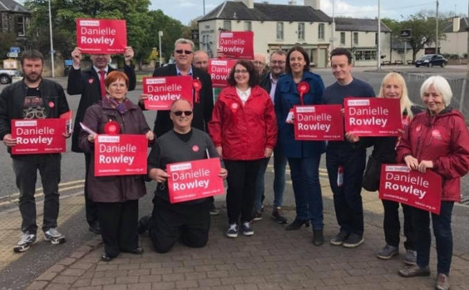 Elect Danielle Rowley as Labour MP for Midlothian