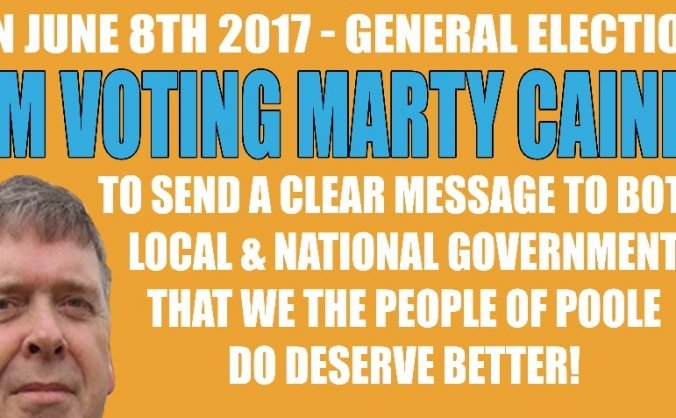 Marty Caine for Poole MP #GE2017
