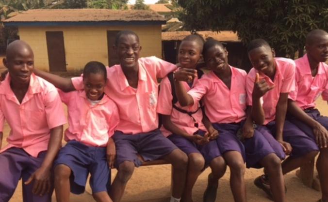 School Bus for Special Needs School, Sierra Leone