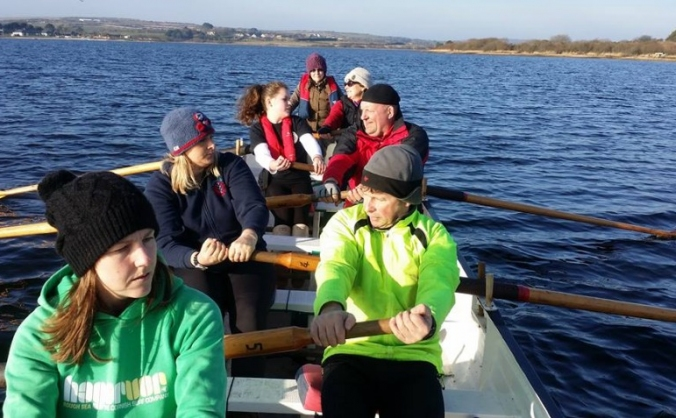 Raising money to buy  a wooden Cornish Gig
